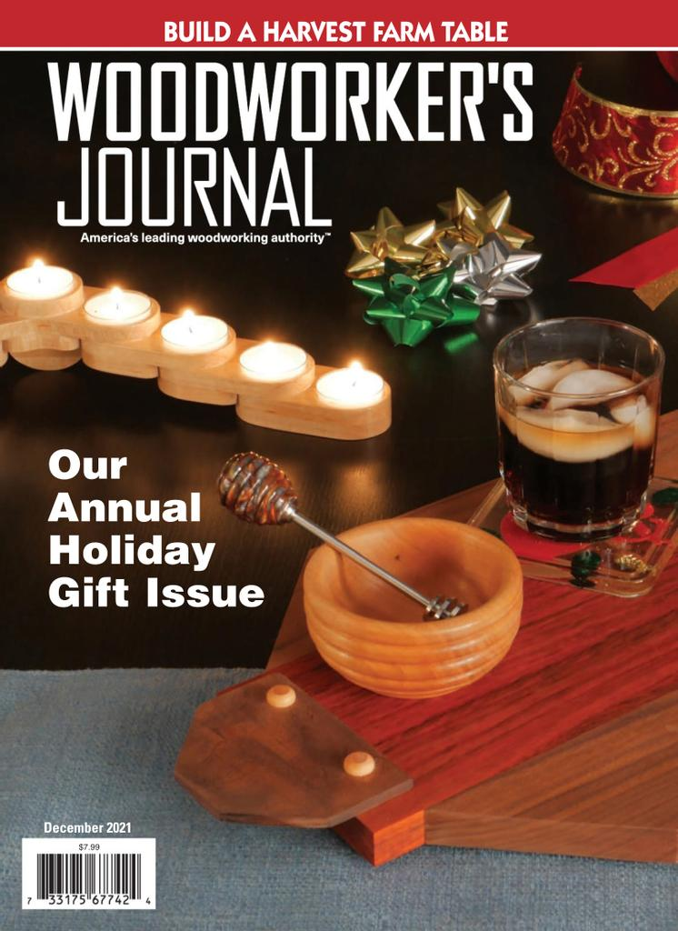 Woodworker's Journal - Subscription Subscriptions