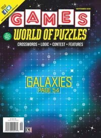 July 10, 2018 issue of Games World of Puzzles