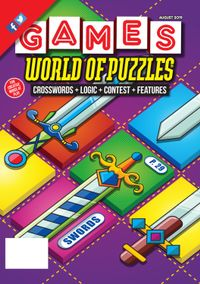 July 31, 2019 issue of Games World of Puzzles