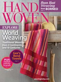 March 01, 2016 issue of Handwoven