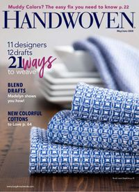 May 01, 2020 issue of Handwoven