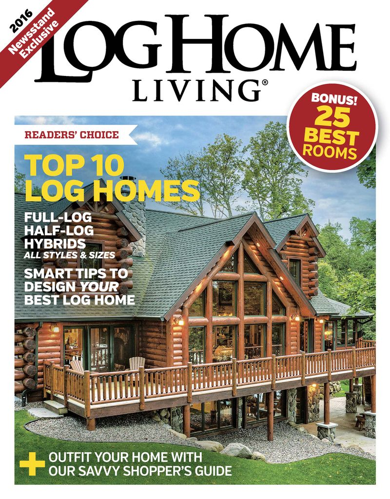 Log Home Living: Annual Buyers Guide - Issue Subscriptions