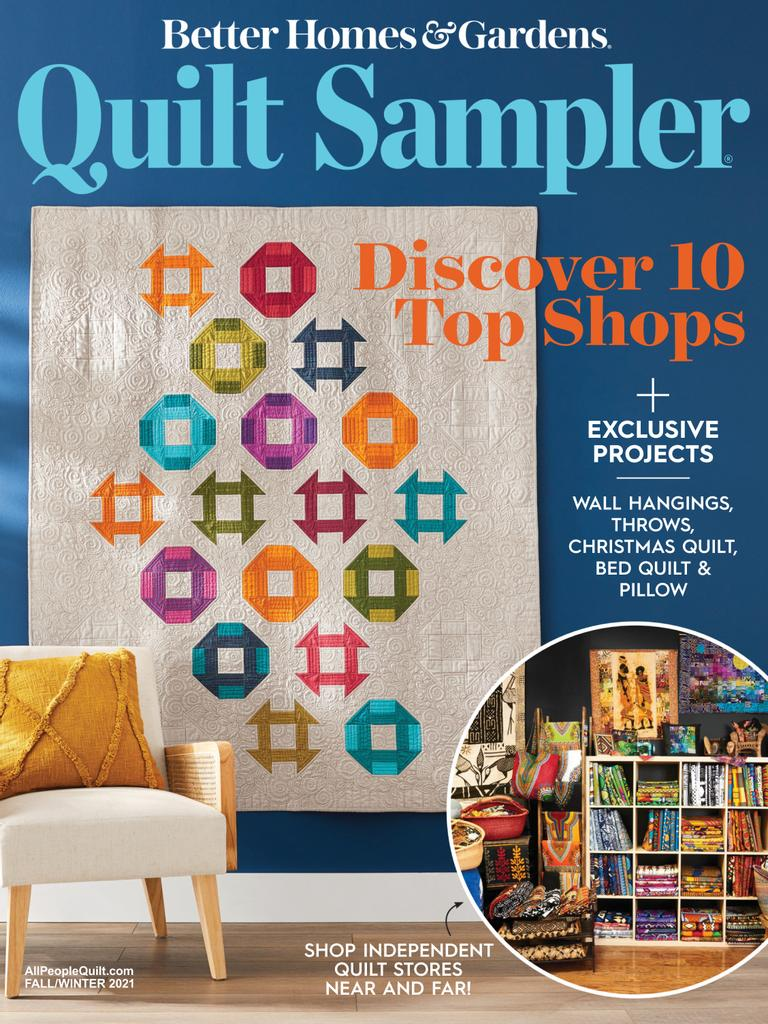 Quilt Sampler - Issue Subscriptions