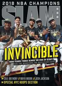 August 31, 2018 issue of Slam