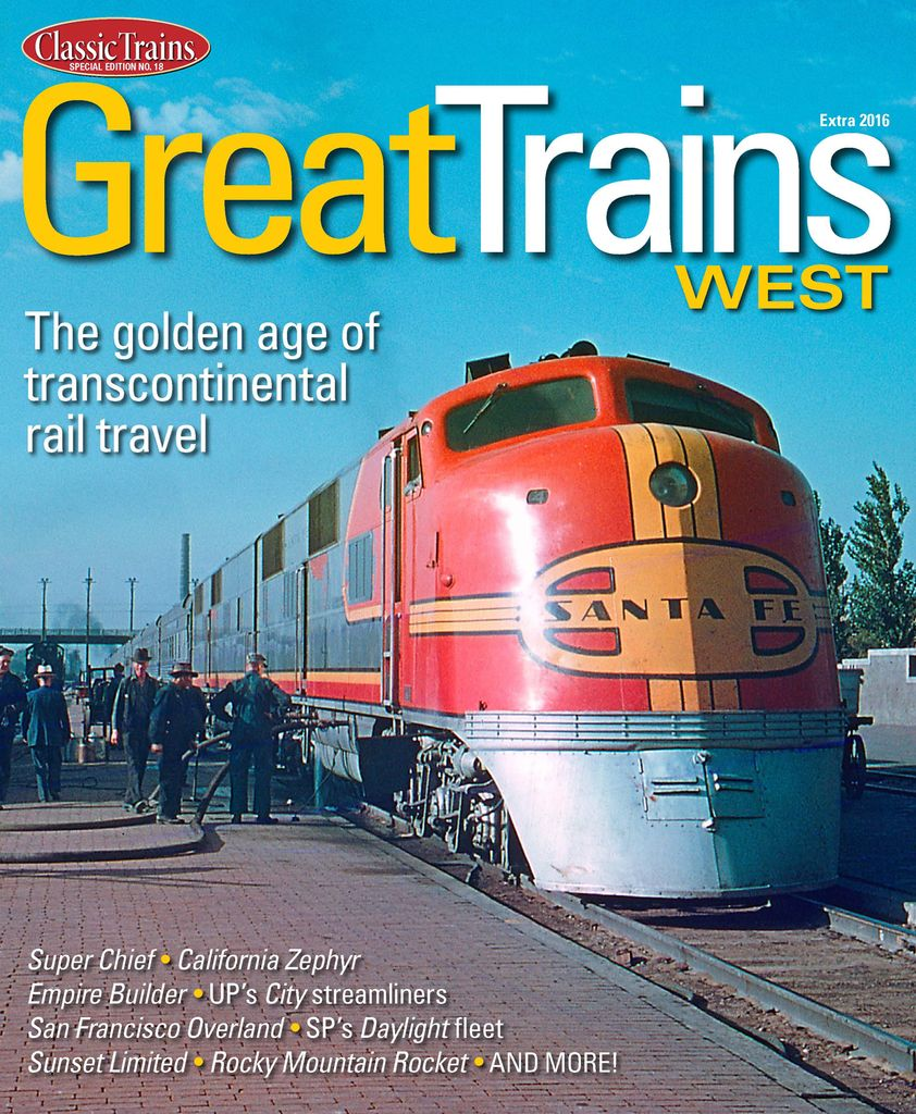 Great Trains West - Issue Subscriptions