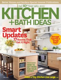 September 01, 2015 issue of Kitchen and Bath Ideas