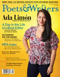 August 31, 2018 issue of Poets & Writers Magazine