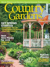January 01, 2016 issue of Country Gardens