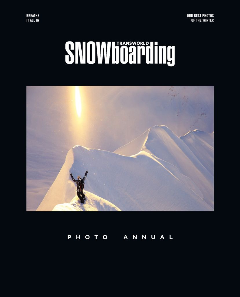 TransWorld SNOWboarding Photo (Annual) - Issue Subscriptions