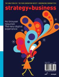 May 13, 2019 issue of strategy+business