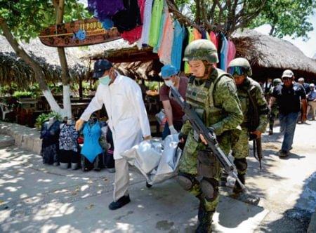 A tropical crime wave