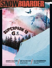 January 01, 2015 issue of Snowboarder
