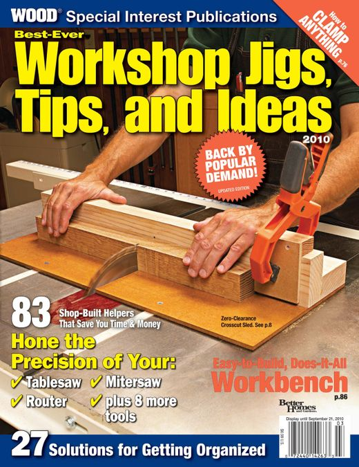 Best Ever Workshop Jigs & Organizers