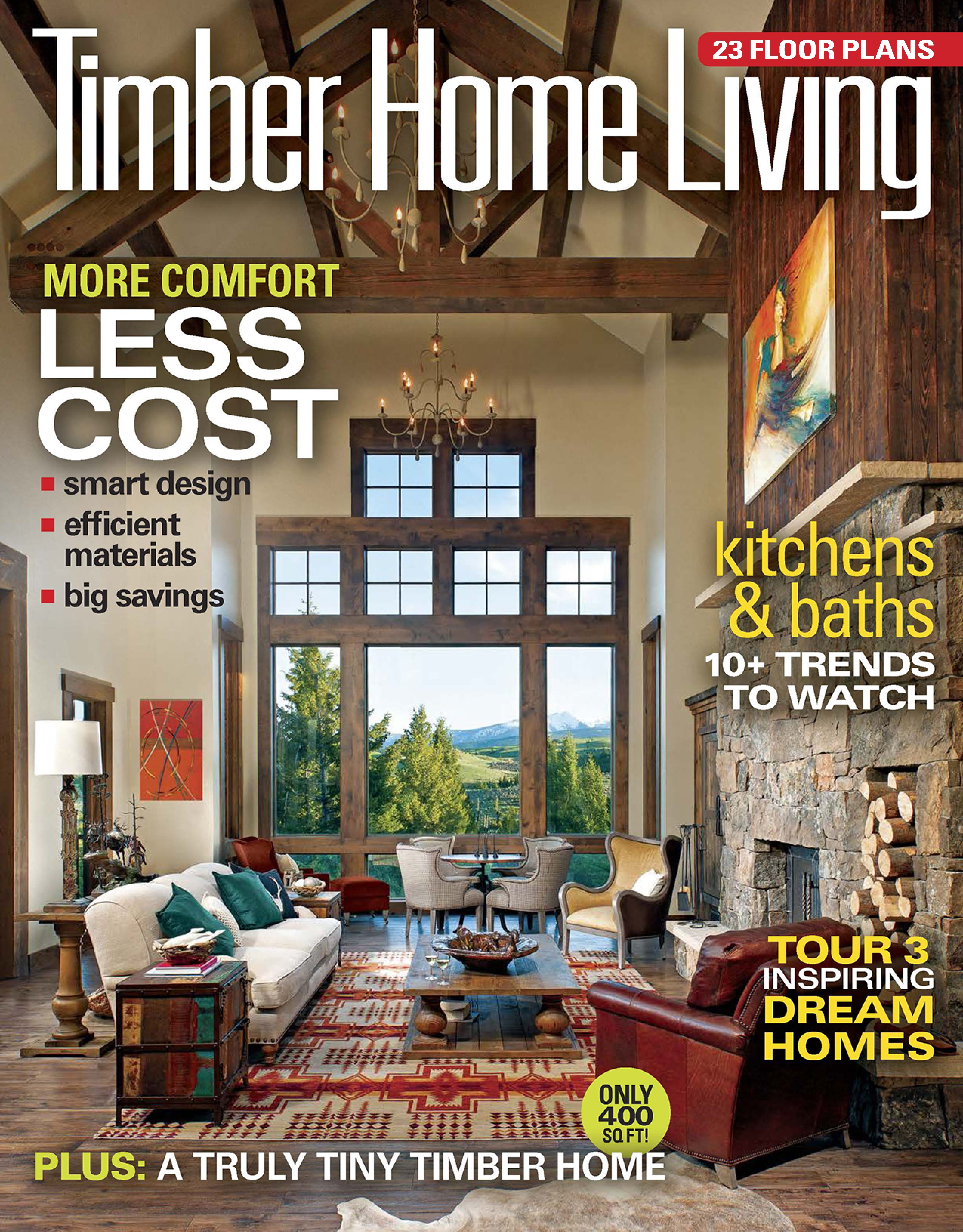 Back Issues Of Timber Home Living