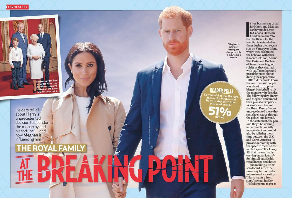 THE ROYAL FAMILY AT THE BREAKING POINT
