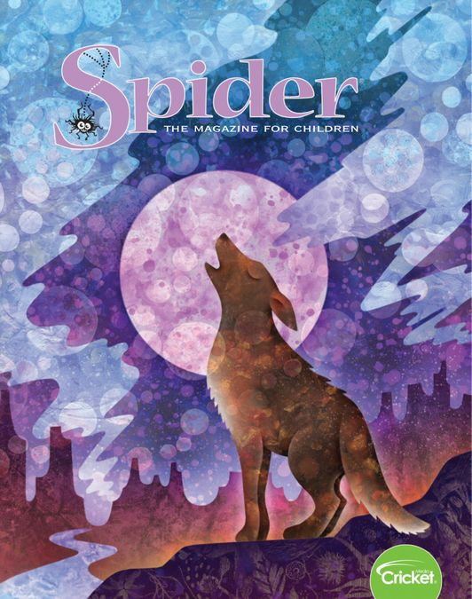 Spider Magazine Stories, Games, Activites and Puzzles for Children and Kids