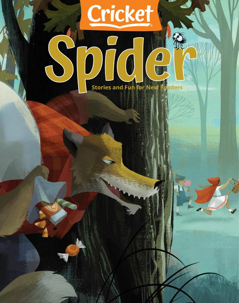 Spider Magazine Stories, Games, Activites and Puzzles for Children and Kids - Subscription Subscriptions