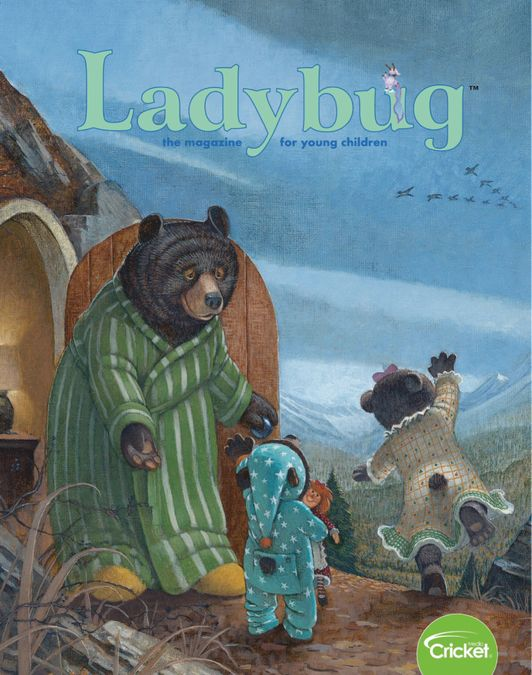 Ladybug Stories, Poems, and Songs Magazine for Young Kids and Children