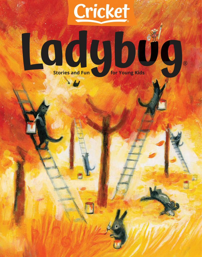 Ladybug Stories, Poems, and Songs Magazine for Young Kids and Children - Subscription Subscriptions