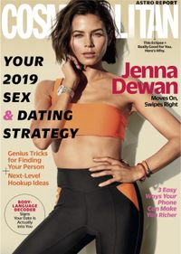 December 31, 2018 issue of Cosmopolitan