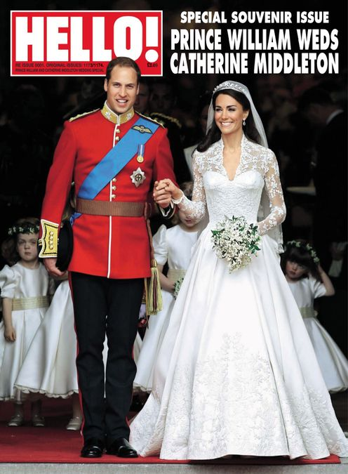 Hello! Magazine Special Issue- ROYAL WEDDING Anniversary
