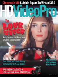 November 01, 2016 issue of HDVideoPro