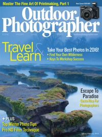 January 01, 2016 issue of Outdoor Photographer
