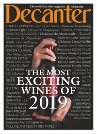 December 31, 2019 issue of Decanter