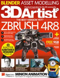 November 01, 2017 issue of 3D Artist