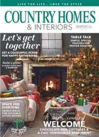 December 31, 2018 issue of Country Homes & Interiors