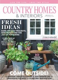 April 30, 2019 issue of Country Homes & Interiors