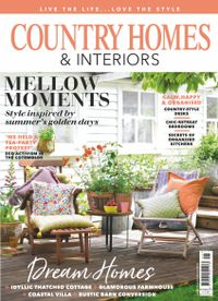 August 31, 2019 issue of Country Homes & Interiors