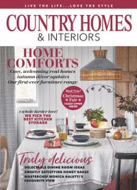 October 31, 2019 issue of Country Homes & Interiors