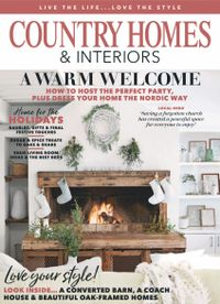 December 31, 2019 issue of Country Homes & Interiors