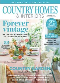 June 30, 2018 issue of Country Homes & Interiors