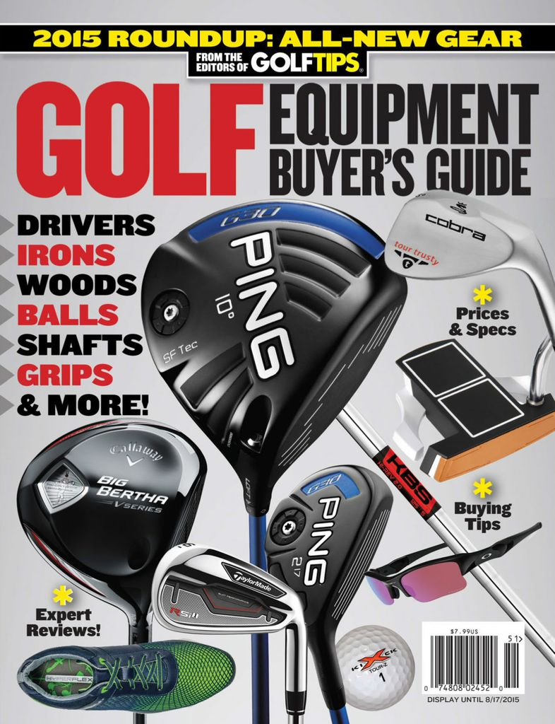 Golf Equipment Buyer's Guide - Issue Subscriptions