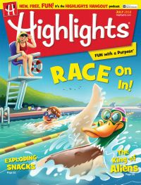 July 01, 2018 issue of Highlights for Children