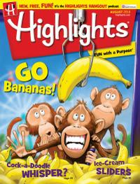 July 31, 2018 issue of Highlights for Children