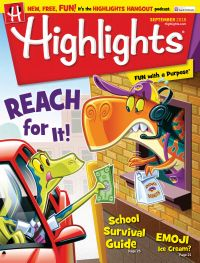 August 31, 2018 issue of Highlights for Children