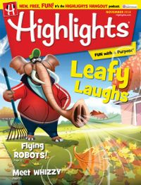 October 31, 2018 issue of Highlights for Children
