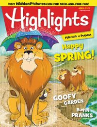 March 31, 2020 issue of Highlights for Children