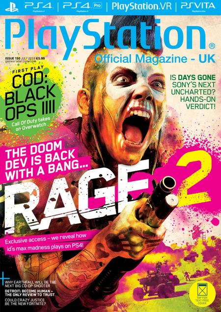 buy july 2018 official playstation magazine uk edition