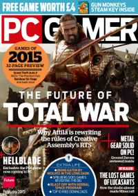 February 01, 2015 issue of PC Gamer