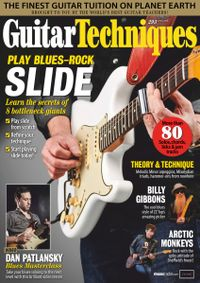 March 31, 2019 issue of Guitar Techniques