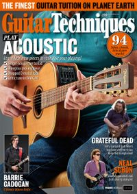 August 31, 2019 issue of Guitar Techniques
