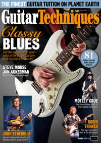 December 31, 2019 issue of Guitar Techniques