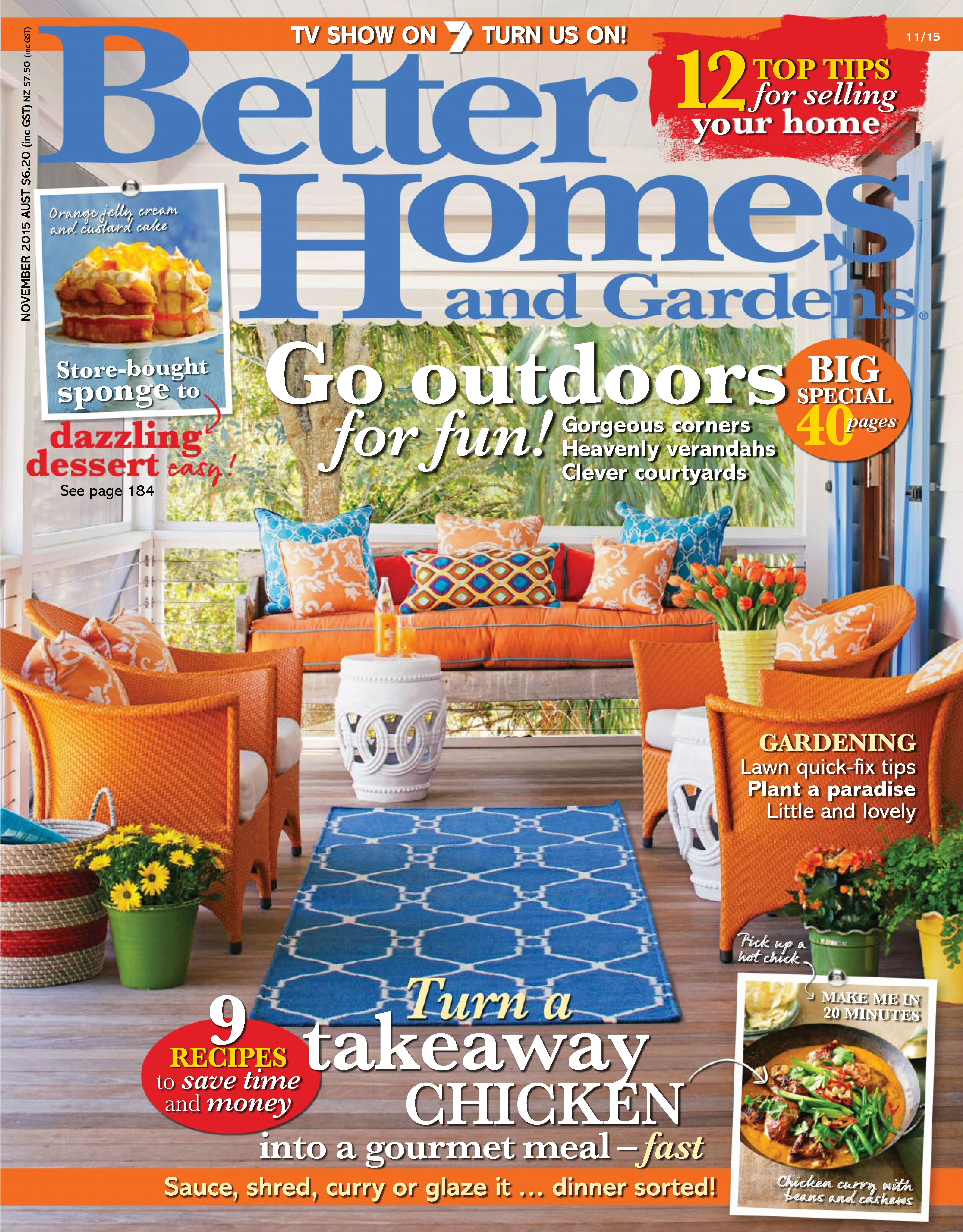 BACK ISSUES. Better Homes And Gardens Australia