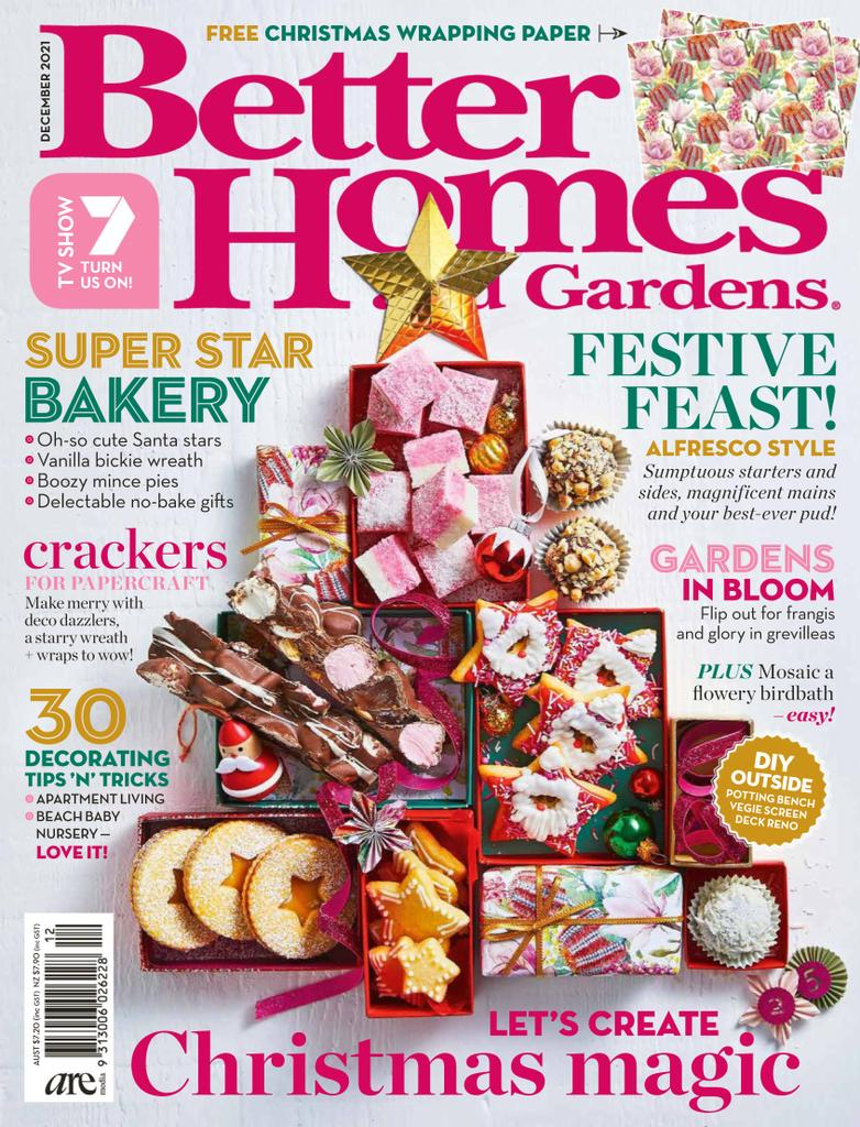 Better homes and gardens cover image