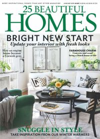 December 31, 2018 issue of 25 Beautiful Homes