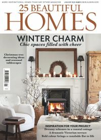 December 31, 2019 issue of 25 Beautiful Homes